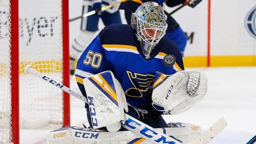 Jordan Binnington: From afterthought to 'the guy' in Blues' net