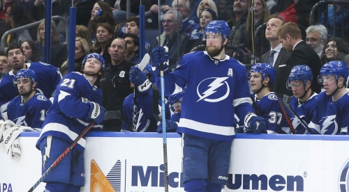 Brayden Point and Victor Hedman expected to return to lineup against Sabres.