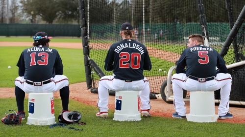 Photos: Braves begin full-squad workouts in Florida