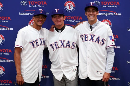 Rangers farm system ranked 9th overall by Baseball Prospectus