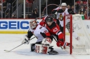 Sens shut out 4-0 by Devils with big three scratched