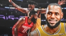 Lakers' LeBron James lauds Reggie Bullock's play vs. Rockets