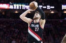 Blazers Centers, Wings Smash the Sixers