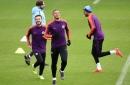 Pep Guardiola gives Man City injury updates on Fernandinho, Aymeric Laporte, Gabriel Jesus and John Stones