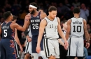 I was there for the Spurs' ugliest loss of the year