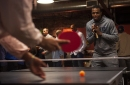 PHOTOS: Denver Nuggets play ping pong with fans at Ace Eat Serve for charity