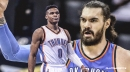 Thunder's Steven Adams on Russell Westbrook's no-affection policy to opponents