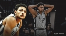 Spurs guard Bryn Forbes suffers calf injury vs. Pistons, questionable to return