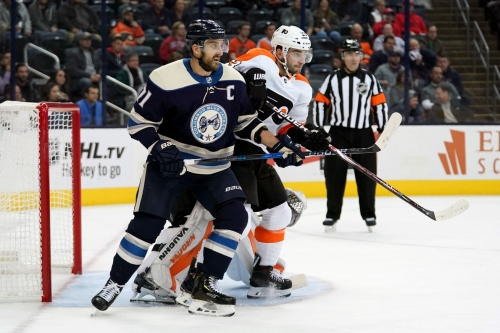Flyers, revamped Blue Jackets meet with playoff implications starting to take shape