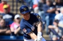 Giants beat Brewers, 6-2; Brewers defeat Reds, 10-8