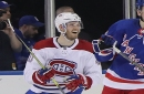 Armia's turn for hat trick as Canadiens down Rangers