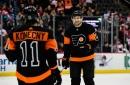 JVR, Konecny lead Flyers in big 6-3 win over Devils
