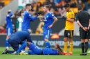 Sol Bamba could miss the rest of Cardiff City's season after going off on stretcher v Wolves
