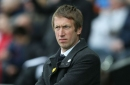 Graham Potter on Swansea City's play-off chances, red cards and the James-McBurnie partnership