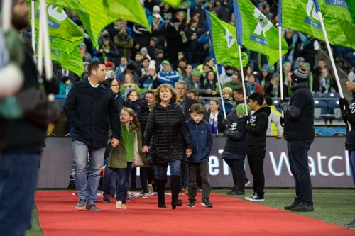 There was no better time for Sounders to honor Sigi Schmid than on Saturday night
