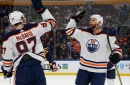 Oilers engineer 3-goal comeback to down Sabres
