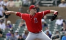 Matt Harvey comes out firing in his Angels spring training debut
