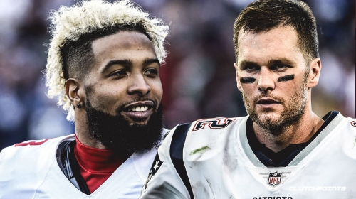 Patriots' Tom Brady invites Odell Beckham Jr. to New England