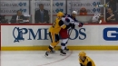 Blue Jackets' Foligno nails Blueger with spinning elbow