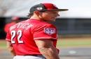 The HBP King: Cincinnati Reds infielder Derek Dietrich skilled at getting hit by pitches