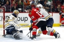 3 up, 3 down from Blackhawks' 5-4 shootout win over Sabres