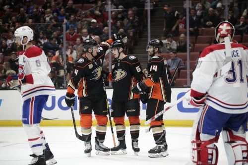 Henrique, Terry lead Ducks to 8-2 rout of Canadiens