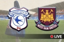 Cardiff City v West Ham United Live team news and updates from Premier League clash