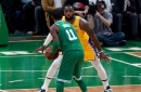 Lakers Vs. Celtics Preview & TV Info: LeBron James Playing Reduced Minutes, Kyrie Irving Returns To Lineup