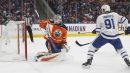 Too little, too late for Oilers in loss to Maple Leafs