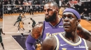 Video: Lakers' Rajon Rondo, LeBron James connect on two early highlights