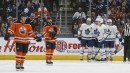 Tavares has three points, Maple Leafs hold on to snap Oilers' win streak