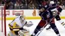 Atkinson scores twice to lift Blue Jackets over Penguins