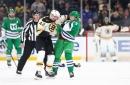 Boston Bruins David Backes: Fighting For His Team