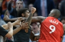 Raptors' Serge Ibaka, Cavaliers' Marquese Chriss ejected for fight