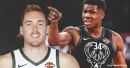 Bucks' Pat Connaughton admits he has a little rivalry with Giannis Antetokounmpo