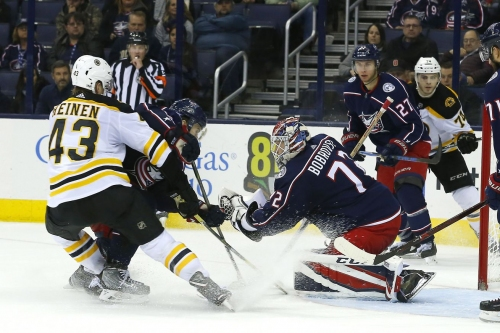 Preview: The Bruins head to Columbus to face a giant cannon