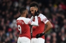 Pierre-Emerick Aubameyang reveals words of wisdom from Alexandre Lacazette during Arsenal's win over Manchester United