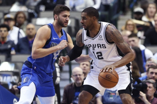 San Antonio at Dallas, Final Score: Spurs survive the Mavs 112-105
