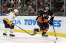 Nashville Predators 2, Anaheim Ducks 3: Forsberg's Late Effort Not Enough, Preds Suffer Embarrassing Loss