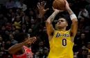 Kyle Kuzma Credits Comeback Win Against Bulls To Lakers 'Having Fun'