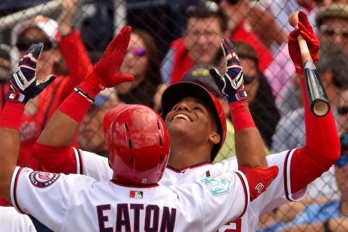 Washington Nationals 8-4 over Atlanta Braves: Nats hit four homers in win...