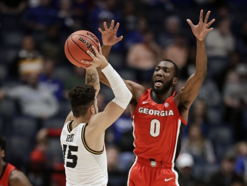 Geist carries Mizzou to SEC tourney win over Georgia