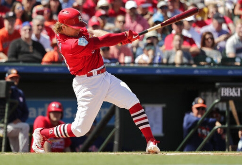 Bader to lead off; Fowler bats third in Cards' game vs. Mets