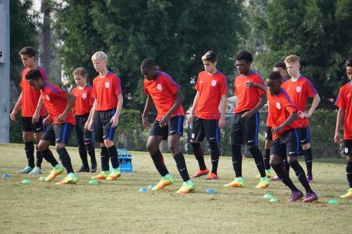 Frisco hosts US Soccer U14 talent ID camp