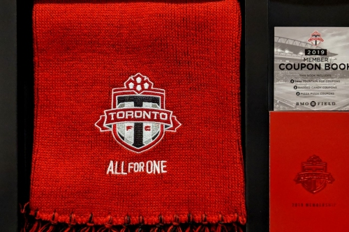 Toronto FC takes a minimalist approach to 2019 membership packages