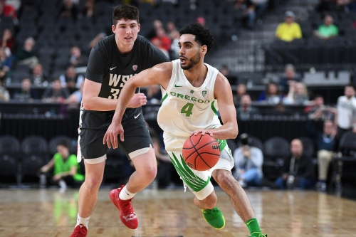 Oregon dominates Washington State 84-51 in first game of Pac-12 tournament
