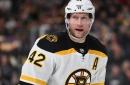 Bruins lines vs. Winnipeg: More shuffling