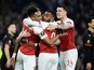 Result: Pierre-Emerick Aubameyang brace fires Arsenal past Rennes