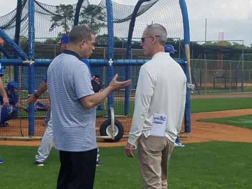 Allard Baird has helped bolster Mets' front office, scouting department