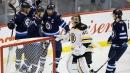 Mark Scheifele has three points, Jets hand Bruins third straight loss